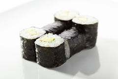 Cucumber Sushi Roll Stock Image