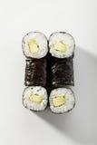 Cucumber Sushi Roll Stock Photo