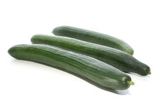 cucumber to use for a fresh salad Royalty Free Stock Image