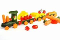 Cucumber train Royalty Free Stock Photos