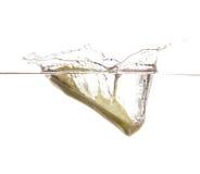 Cucumber undwerwater Stock Photos
