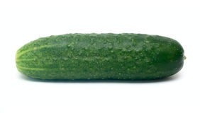 Cucumber vegetable isolated on white Royalty Free Stock Image