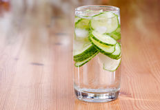 Cucumber Water Stock Photography