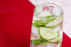 Cucumber Water Royalty Free Stock Photography