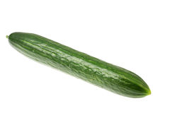 Cucumber on white. Stock Photography
