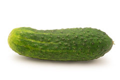 Cucumber  on white Royalty Free Stock Photos