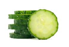 Cucumber  on white background close up. Cucumber  on white background close up Stock Images