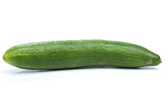 Cucumber  on white Stock Images