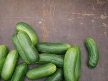 Cucumber wood Royalty Free Stock Photo