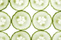 Cucumbers background Stock Image