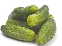Cucumbers heap Royalty Free Stock Photography