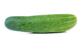 Cucumbers isolated on white Royalty Free Stock Images