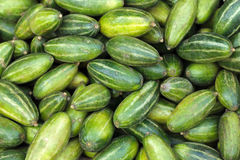 Cucumbers in market Stock Images