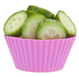 Cucumbers not Cupcakes Diet Royalty Free Stock Image