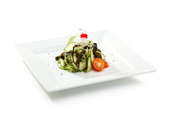 Cucumbers Salad Stock Photo