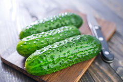 Cucumbers Stock Images