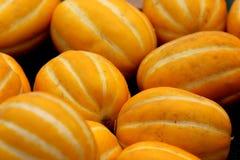 Cucumis melo var. conomon, Korean star melon Stock Photos