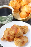 Cucur Chempedak- Malay Traditional Cuisine royalty free stock photography