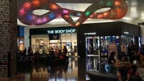 Cud mila Robi zakupy w Las Vegas, Nevada obrazy royalty free