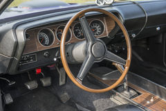 Cuda dashboard Royalty Free Stock Image
