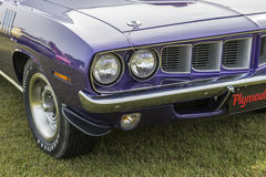1971 cuda front grill Stock Photo
