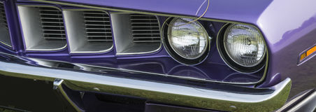 Cuda front grill Stock Photos