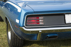 Cuda rear end stock images