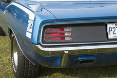 1970 cuda rear end Stock Photo