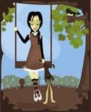 Cudacka Dziewczyna Ilustracji