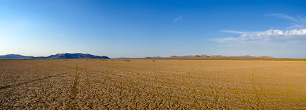 Cuddeback Dry Lake Bed Royalty Free Stock Photography