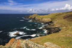 Cudden Point, Cornwall Stock Image