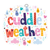 Cuddle weather Stock Image