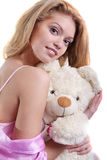 Cuddles Stock Photography