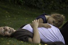 Cuddles wszystko wokoło Zdjęcia Stock