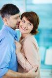 Cuddling Royalty Free Stock Image