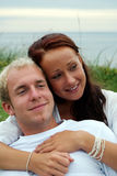Cuddly couple Stock Photos