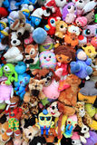 Cuddly toys collection Royalty Free Stock Image