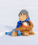 Cuddly toys Royalty Free Stock Images