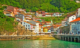 Cudillero Royalty Free Stock Photos