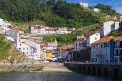 Cudillero Asturias Royaltyfri Bild