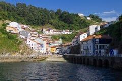 Cudillero Asturias Royaltyfria Bilder