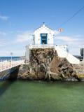 Cudillero. Asturias, Spain. Striking building in the port area of Cudillero. Asturias. Spain Stock Images