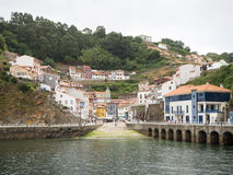 Cudillero, Asturias.  Spain. View of Cudillero, one of the most beautiful villages of Spain.  Asturias Royalty Free Stock Photo
