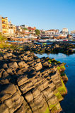 Cudillero, Asturias, Spanien Lizenzfreie Stockfotos