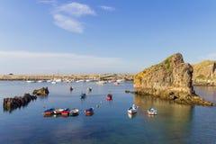 Cudillero Asturie fotografia stock libera da diritti