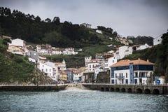 Cudillero. Fishing village in Asturias (Spain Royalty Free Stock Photo
