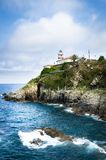 Cudillero Northern Spain Stock Images