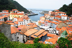 Cudillero at Spain. Cudillero, coast town at Spain Royalty Free Stock Photography