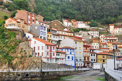 Cudillero, village in Asturias (Spain) Royalty Free Stock Photo