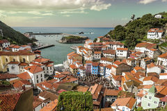 Cudillero village Royalty Free Stock Photo